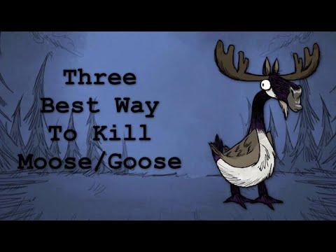 Three Best Ways To Kill Moose/Goose