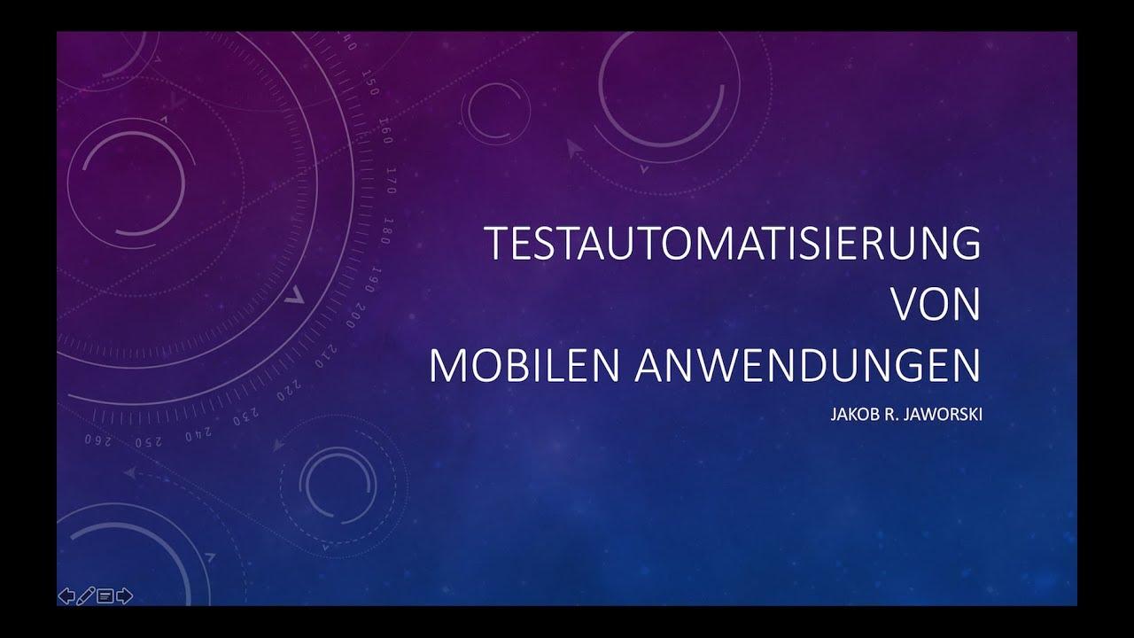 Handel mit mobilen Anwendungen