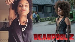 Deadpool 2: Zazie Beetz on why Domino embraces armpit hair