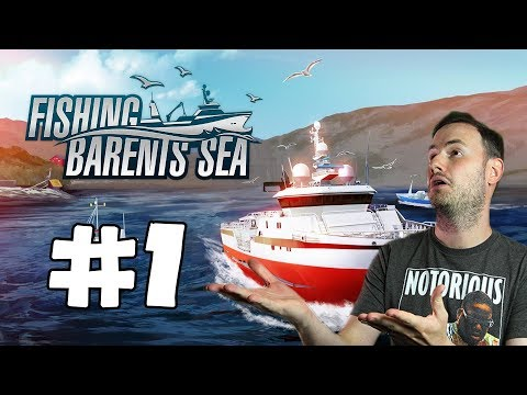 Sips Plays Fishing: Barents Sea (8/2/2018) #1 - It's Fishing Time