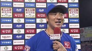 2019年7月19日 東北楽天・茂木栄五郎選手・美馬学投手ヒーローインタビュー
