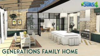 GENERATIONS FAMILY HOME | Machinima | No CC | The Sims 4 Stop Motion