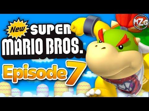 New Super Mario Bros. DS Gameplay Walkthrough - Episode 7 - World 7! (Nintendo DS)