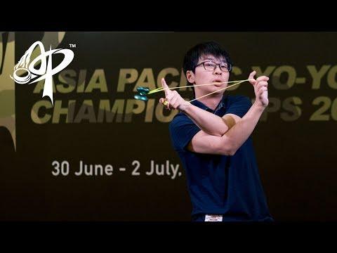 Shion Araya (JP): 1A Division Finals - Asia Pacific Yo-yo Championships 2017