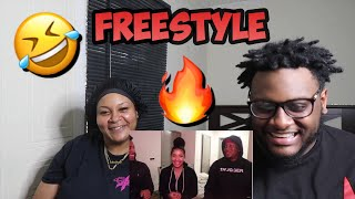 Mom REACTS to ZIAS & B.lou Freestyles Compilation 2019