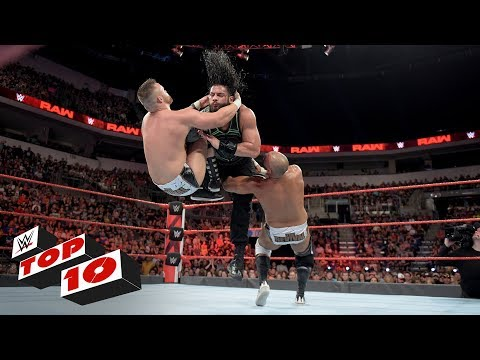 Top 10 Raw moments: WWE Top 10, July 2,...
