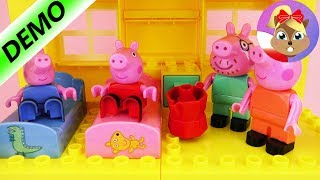 Świnka Peppa Unboxing polski   Peppa Pig - domek szybka budowa   Baw się ze mną