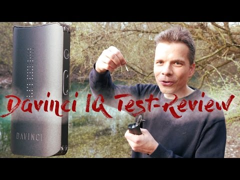 Davinci IQ Vaporizer Test/Review deutsch