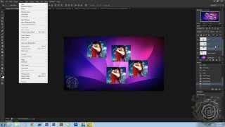 كورس الاحترافى الكامل photoshop cc & cs6 المحاضرة الثانية ((2))