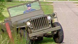 1945 WW2 Willys MB Jeep unrestored video 4of4