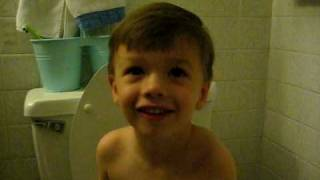 Benji Potty Training Conversation on his 3rd Birthday