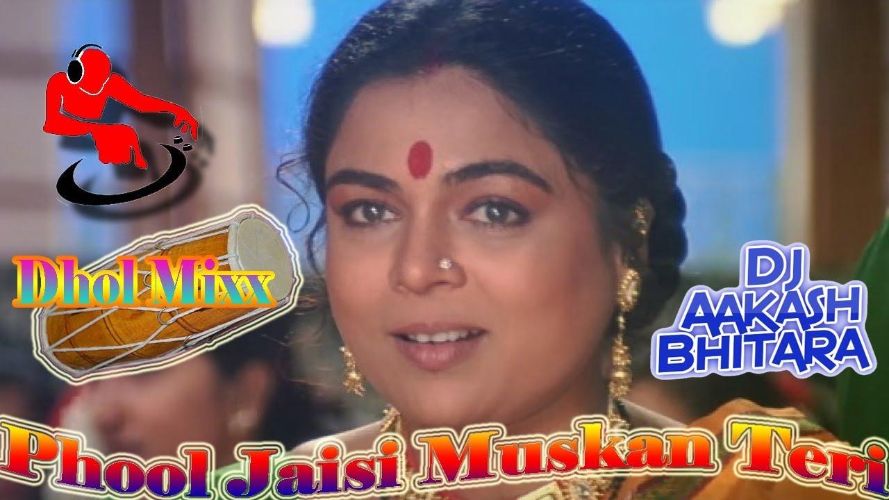 Phool+Jaisi+Muskaan+Teri+Tu+Banega+Pahchan+Meri (Dhol Style Hard  Vibration)Aakash+Dj+Bhitara+Pbh