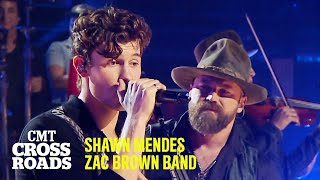 Zac Brown Band & Shawn Mendes Perform 'Colder Weather'   CMT Crossroads