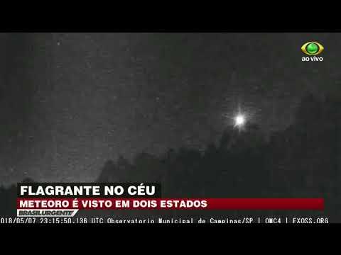 Meteoro é Visto Em São Paulo E Minas Gerais
