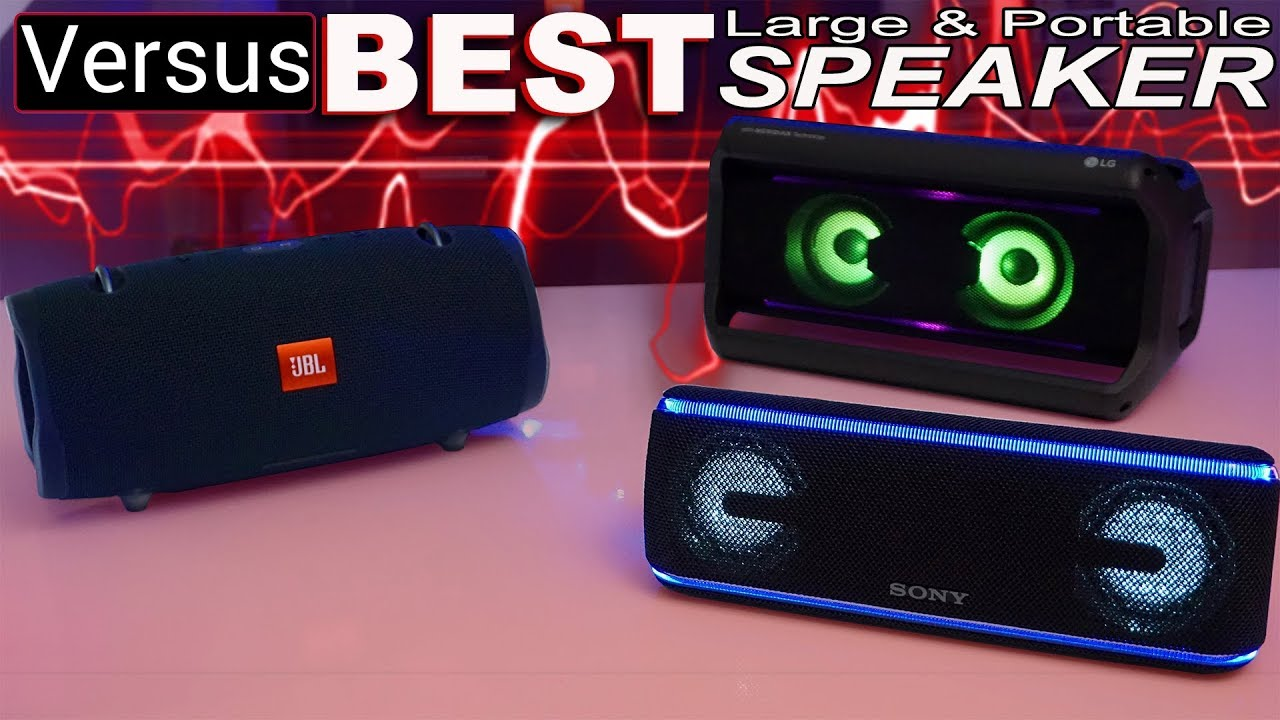 The Best Large And Portable Bluetooth Speakers — GYMCADDY