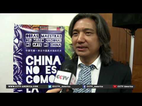 Chinese art from Guizhou province exhibits in Mexico City