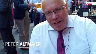 Sybille Benning CDU/CSU  Peter Altmaier auf Besuch in Münster