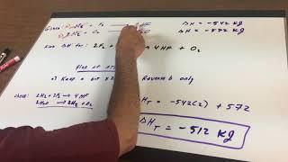 Thermochemistry Hess's Law 1 - ORGOMAN - DAT DESTROYER