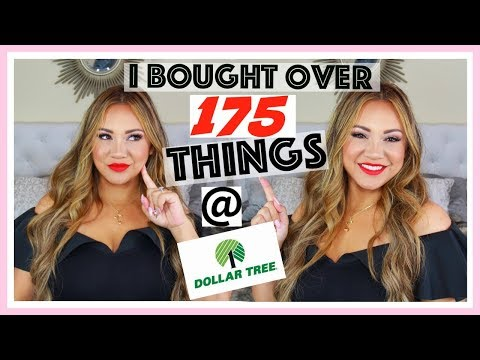 I SPENT OVER $175 at Dollar Tree!!! Whats new at Dollar Tree Haul