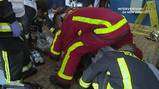 Incendie Ivry-sur-Seine - BSPP