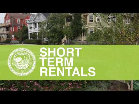 Short-Term Rental Law in Cambridge