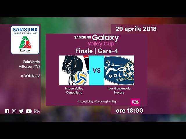 Gara4 Conegliano - Novara | Finale | Highlights | Samsung Galaxy Volley Cup