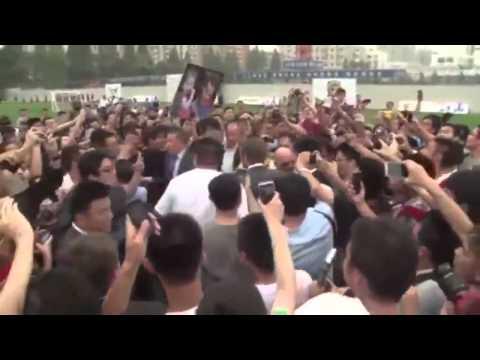 David Beckham' Shanghai Stampede Leaves 7 People Injured