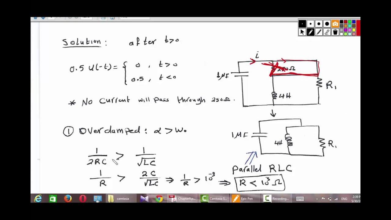 Parallel Resonance Circuit Simulator