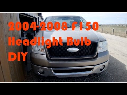 2004 2008 F150 How To Replace Headlight Bulb