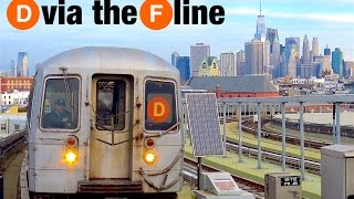 ⁴ᴷ D trains Rerouted via the F Line