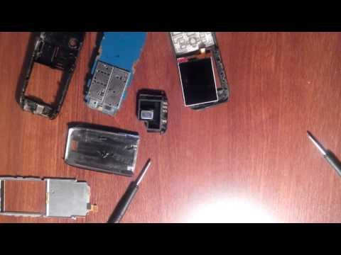 Nokia E51 Disassembly Разборка