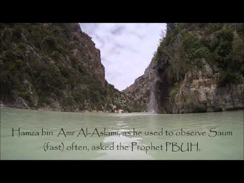 Hadith on fasting for the traveller. Sahih Al Bukhari