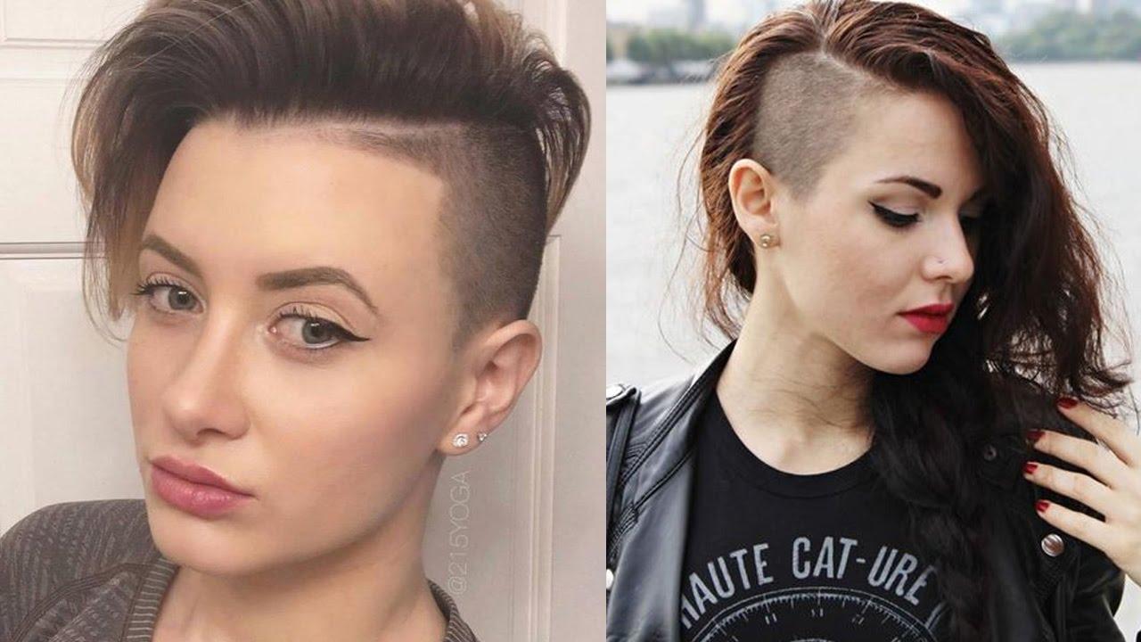 sidecut haircut - side shave hair | side cut hairstyles for women/girls