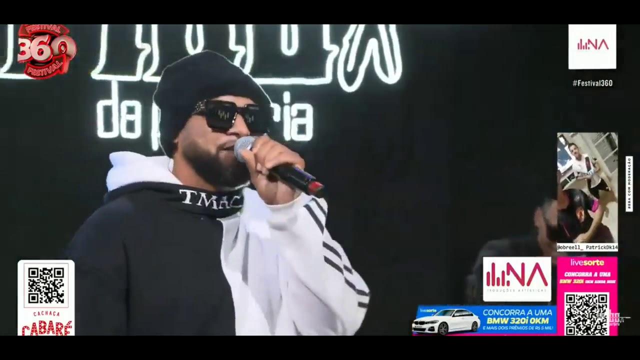 Download Tribo da Periferia ft. Hungria Hip Hop - Insônia Ao vivo na Live #Festival360