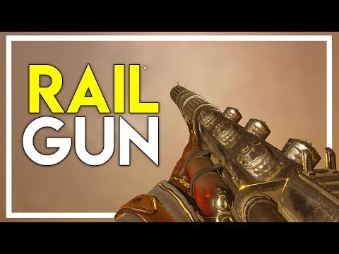 Finding a RAIL GUN and then SELLING it to a TRADER?! (Desolate Gameplay)