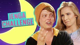 JENGA CHALLENGE W/ THE BATH BOYS