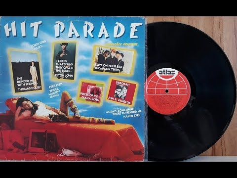 Hit Parade Vol. 6 - Coletânea Pop Internacional - (Vinil Completo - 1983) - Baú Musical