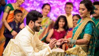 Akshay & Prajakta Engagement Highlights