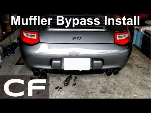 Making My Porsche 911 Louder! (Center Muffler Bypass Install DIY Tutorial)