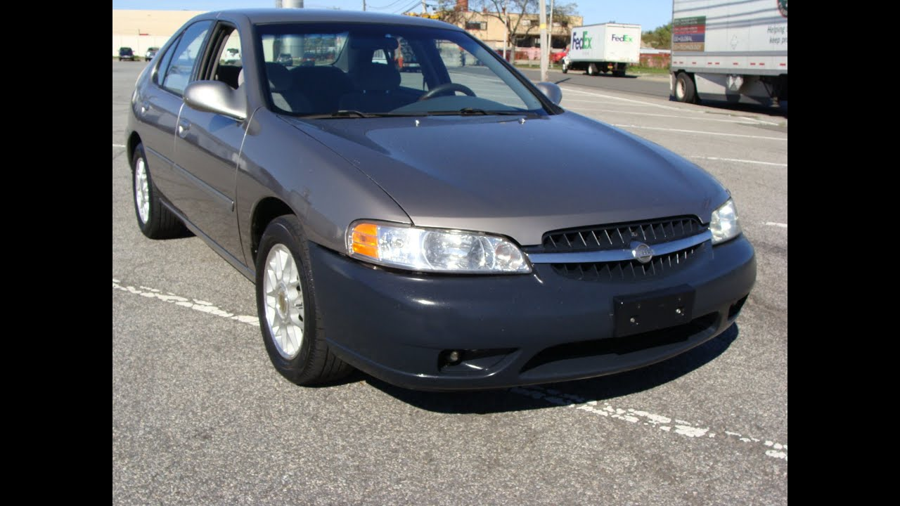 2001 nissan altima gxe limited edition