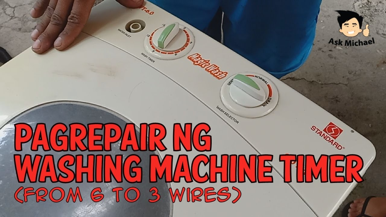 Replacing 6 Wire Timer 7 Wire Timer In Washing Machine By Kumar Vishal Sinha