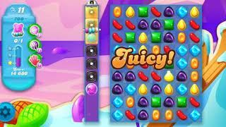 Candy Crush Soda Saga Level 700 Super Hard Level BOOSTER FROM DAILY BONUS