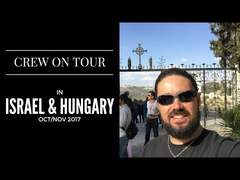 Crew On Tour | Israel And Hungarian Gun Range | Tour Life