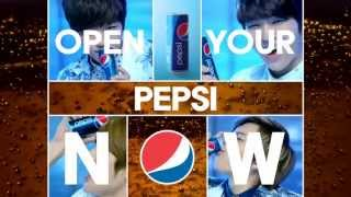 OPEN YOUR PEPSI - INFINITE