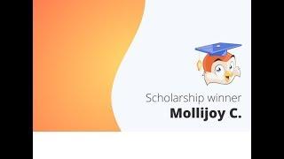 ScholarshipOwl Testimonial - Bonus Scholarship Winner - Molli C.
