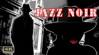 Jazz Noir , Rain | Clip |  Jazz Noir Music in 4k. | 5.1 surround