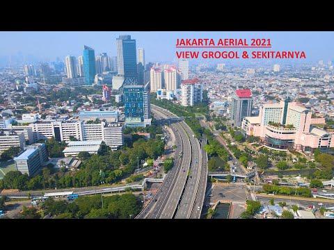 JAKARTA AERIAL | VIEW GROGOL DAN SEKITARNYA