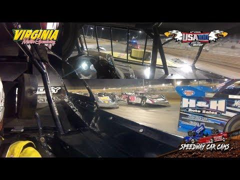 USA100 Winner - #55 Matt Long  - Crate Late Model - 6-16-18 Virginia Motor Speedway - In Car Camera
