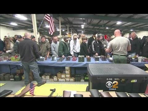 Gun Show In Costa Mesa Illustrates American's Interest In Weapons