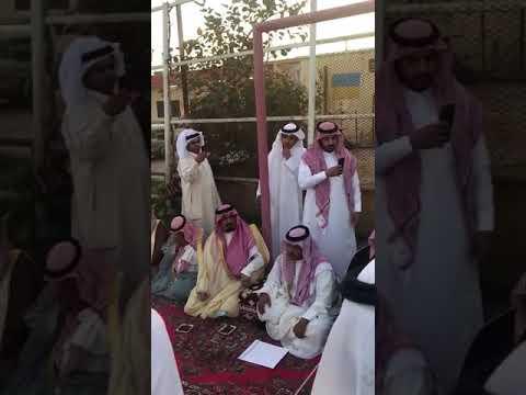 قصيدة الشاعر سالم السامود الحربي في ذكر شيوخ الصلح ومنهم الشيخ عبدالعزيز العقيلي .
